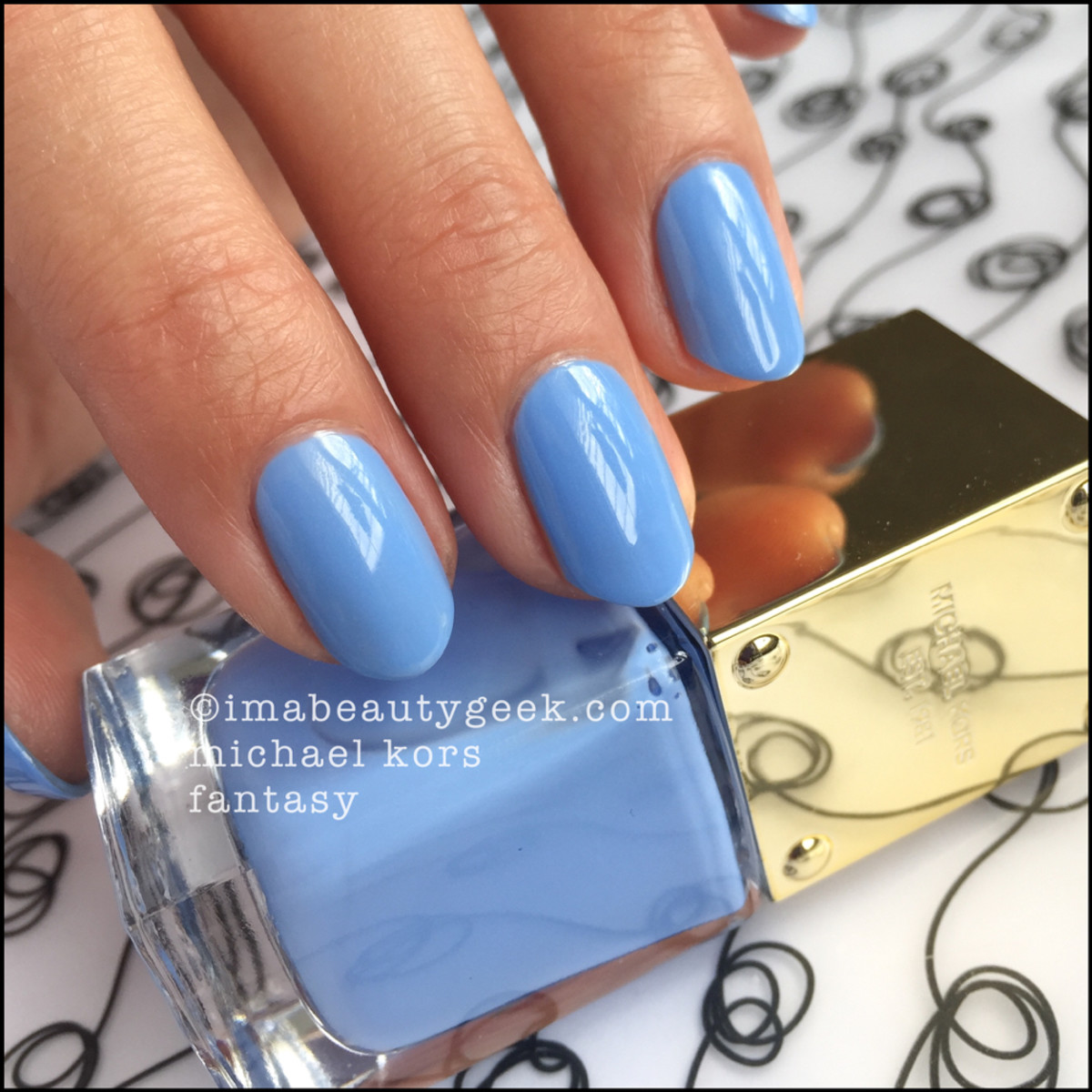 Michael Kors Fantasy Nail Polish Swatch Beautygeeks