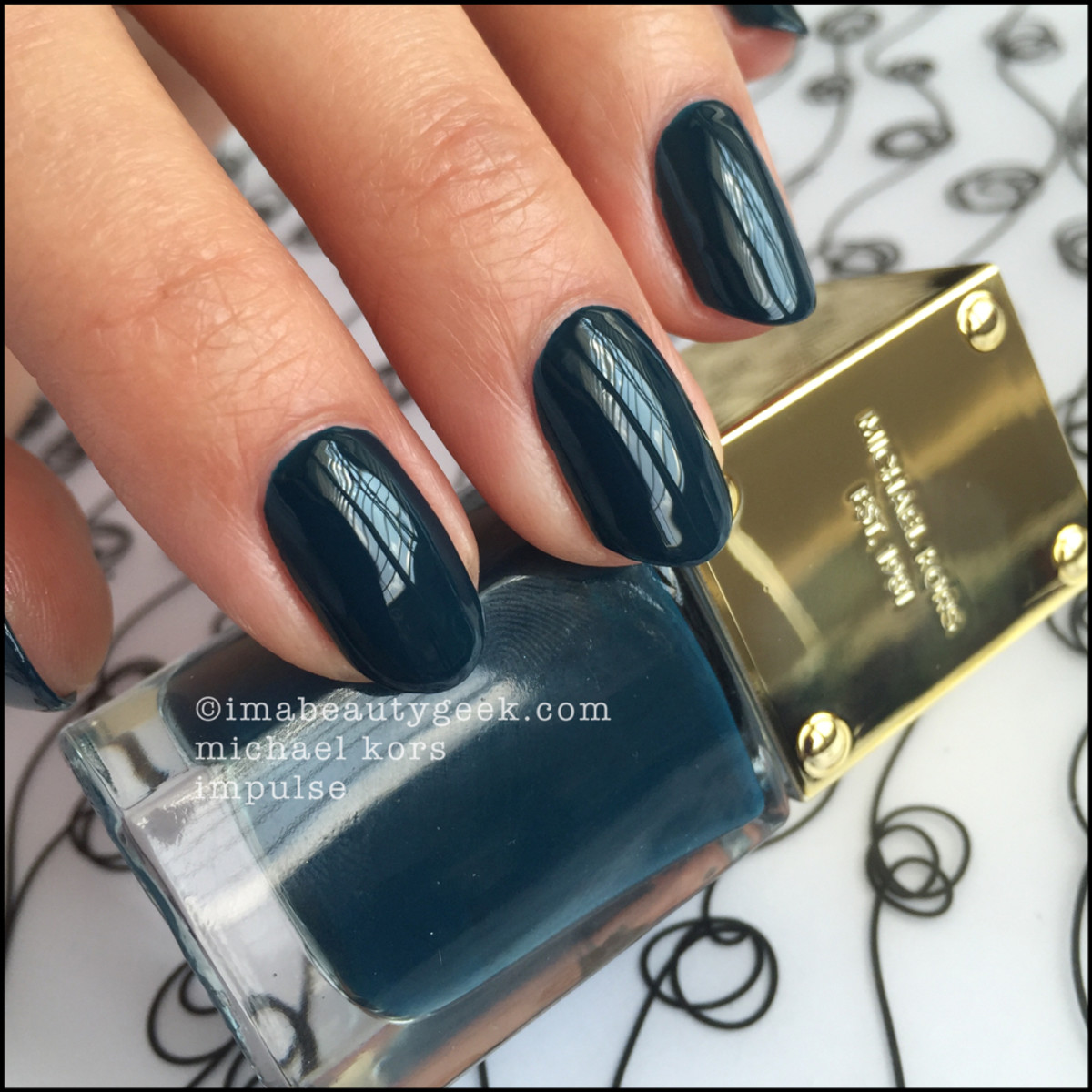 Michael Kors Impulse Nail Polish Swatch Beautygeeks