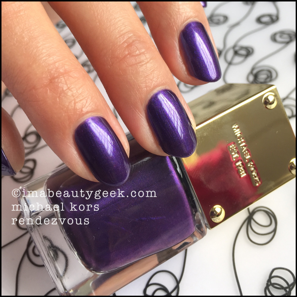 Michael Kors Rendezvous Nail Polish Swatch Beautygeeks