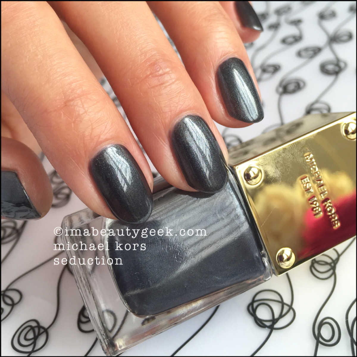 Michael Kors Seduction Nail Polish Swatch Beautygeeks