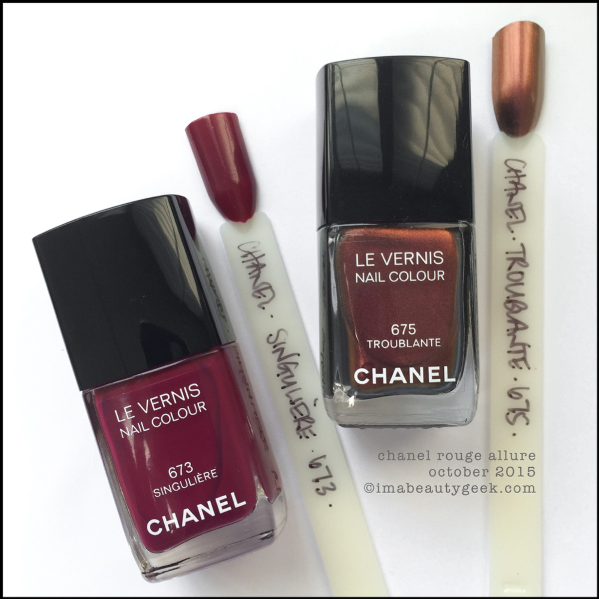 Chanel Troublante Siinguliere Rouge Allure Collection 2015 SubHead