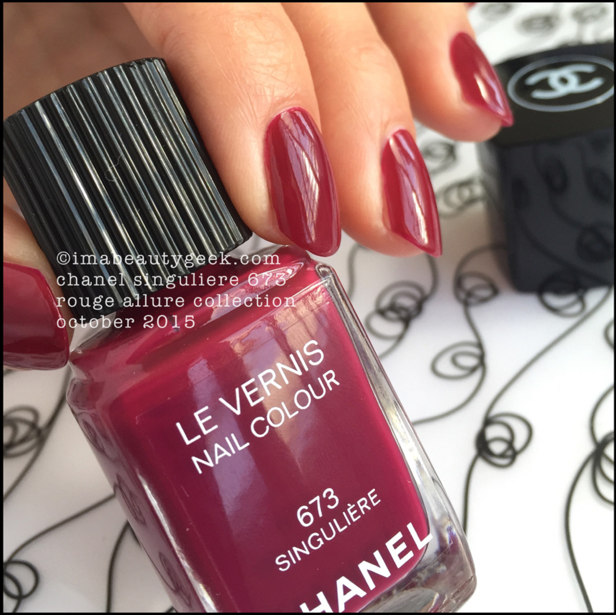 Chanel Rouge Allure Collection 2015 Singuliere 673 Nail Polish