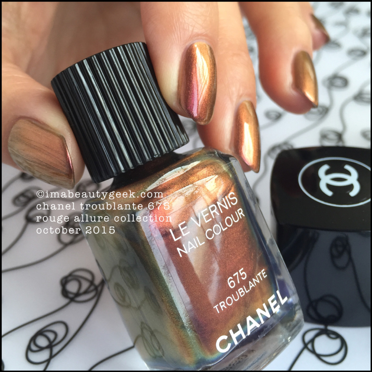 Chanel Troublante 675 Le Vernis Rouge Allure 2015 _ 1