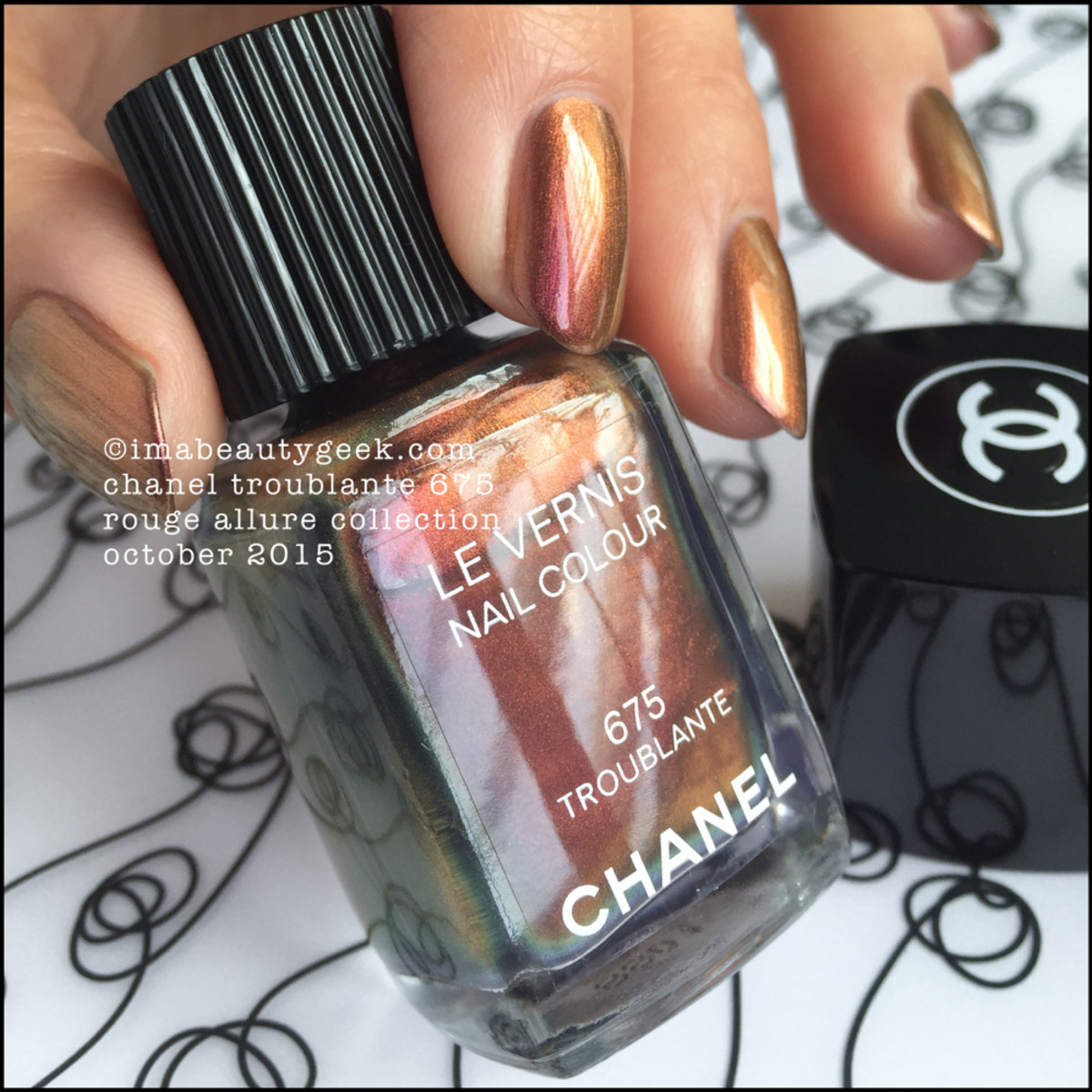 Chanel Troublante 675 Le Vernis Rouge Allure 2015 _ 2