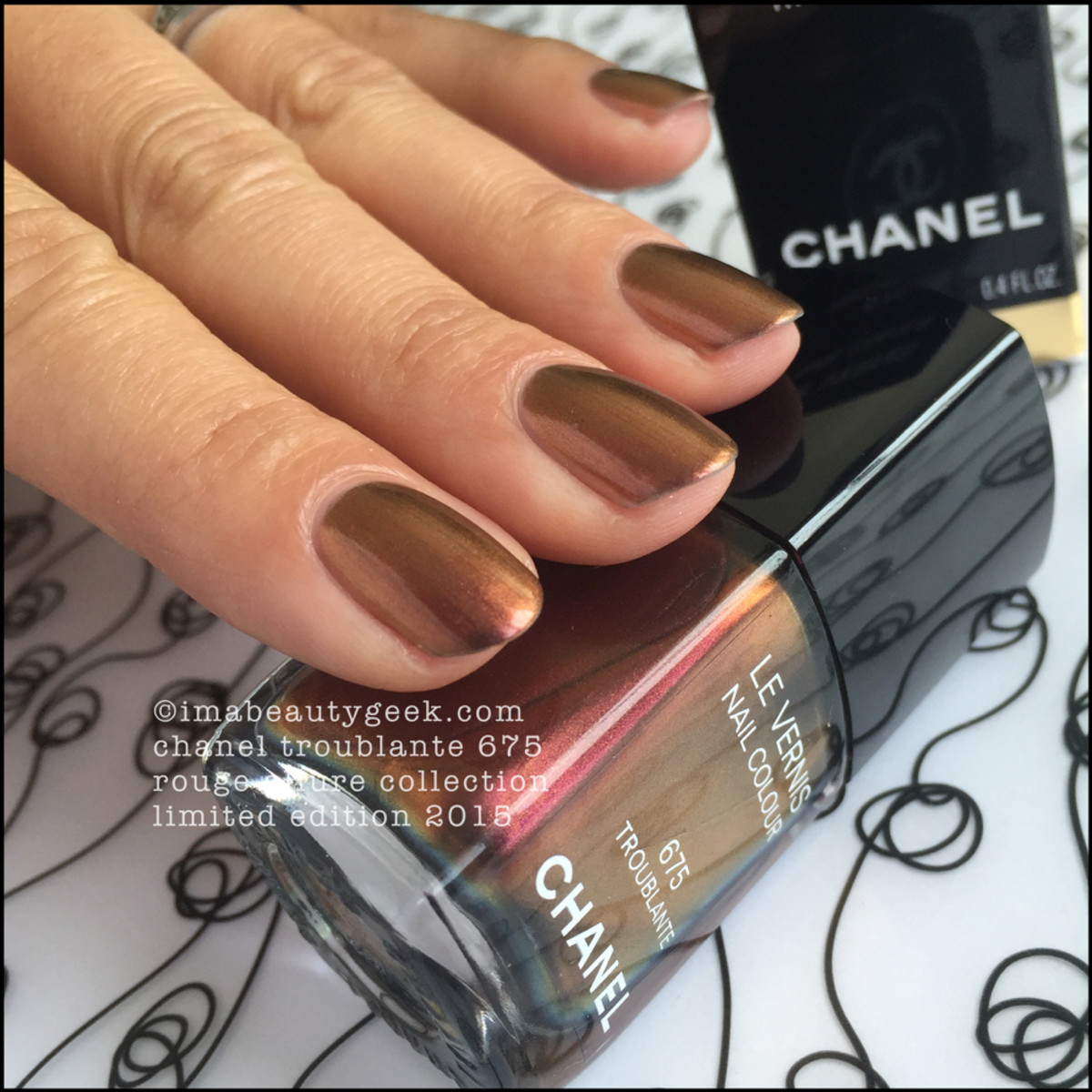 Chanel Troublante Le Vernis Rouge Allure 2015_4
