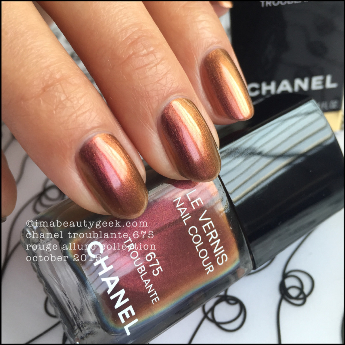 Chanel Rouge Allure Collection Troublante Vernis 675_7