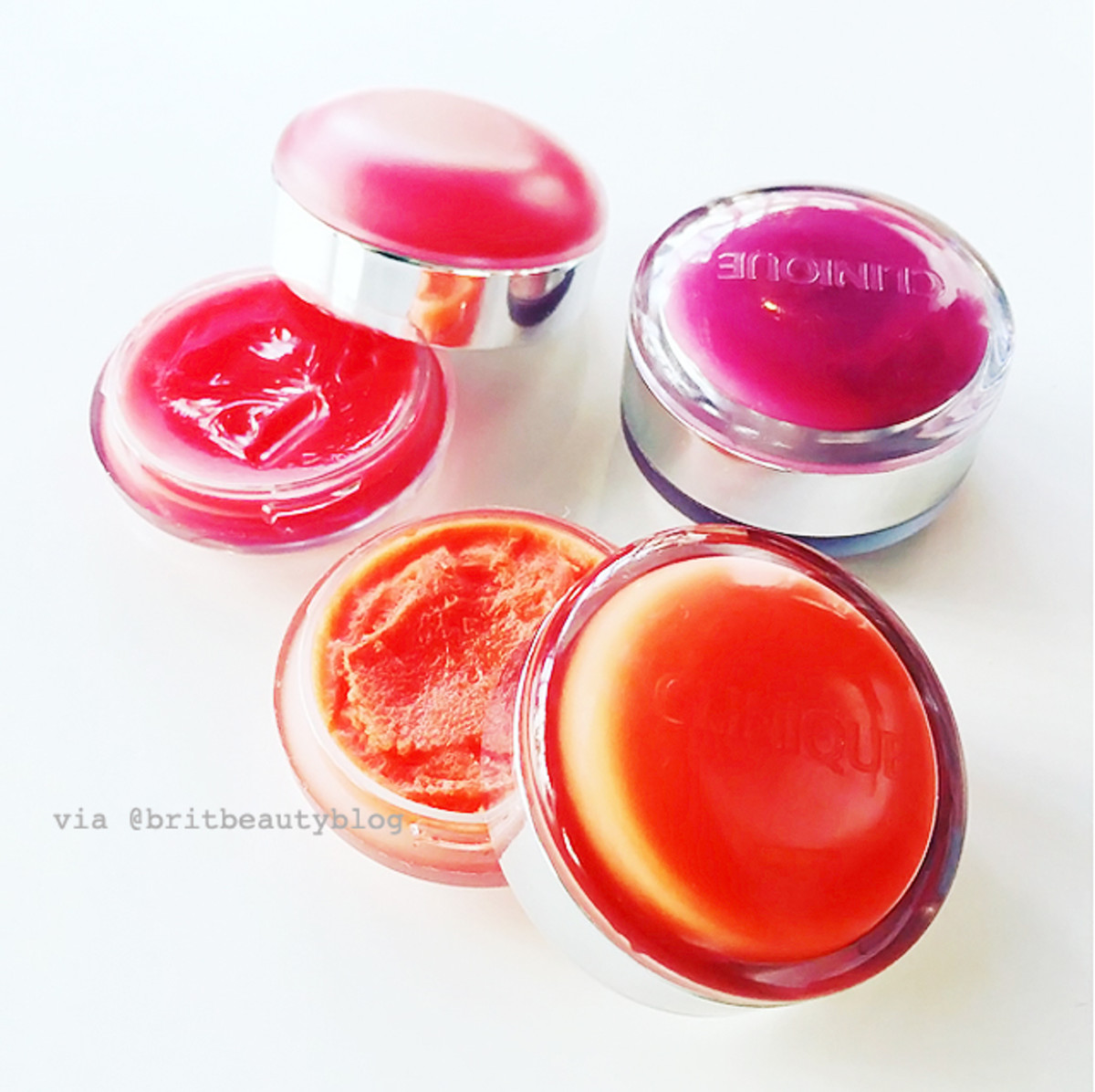Clinique Sweet Pop Sugar Lip Balm & Tints lip scrub and balm duos_via britishbeautyblogger