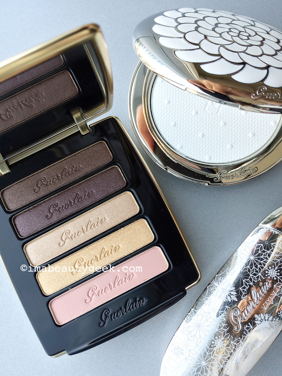 Guerlain Holiday 2015 Palette Ors et Merveilles Eyes and Blush Palette