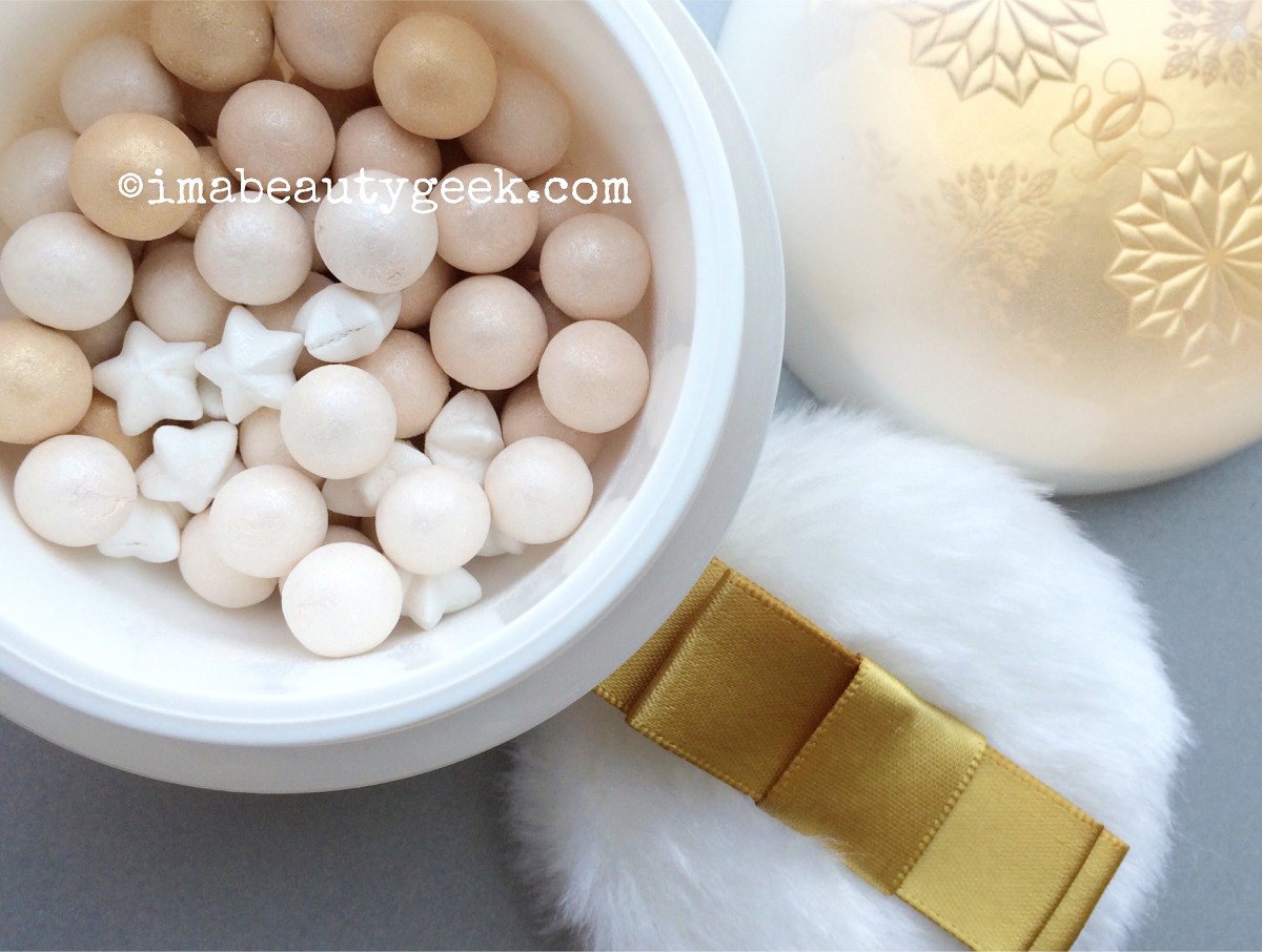 Guerlain holiday 2015 Enchanted Snowflakes Meteorites limited edition illuminating powder
