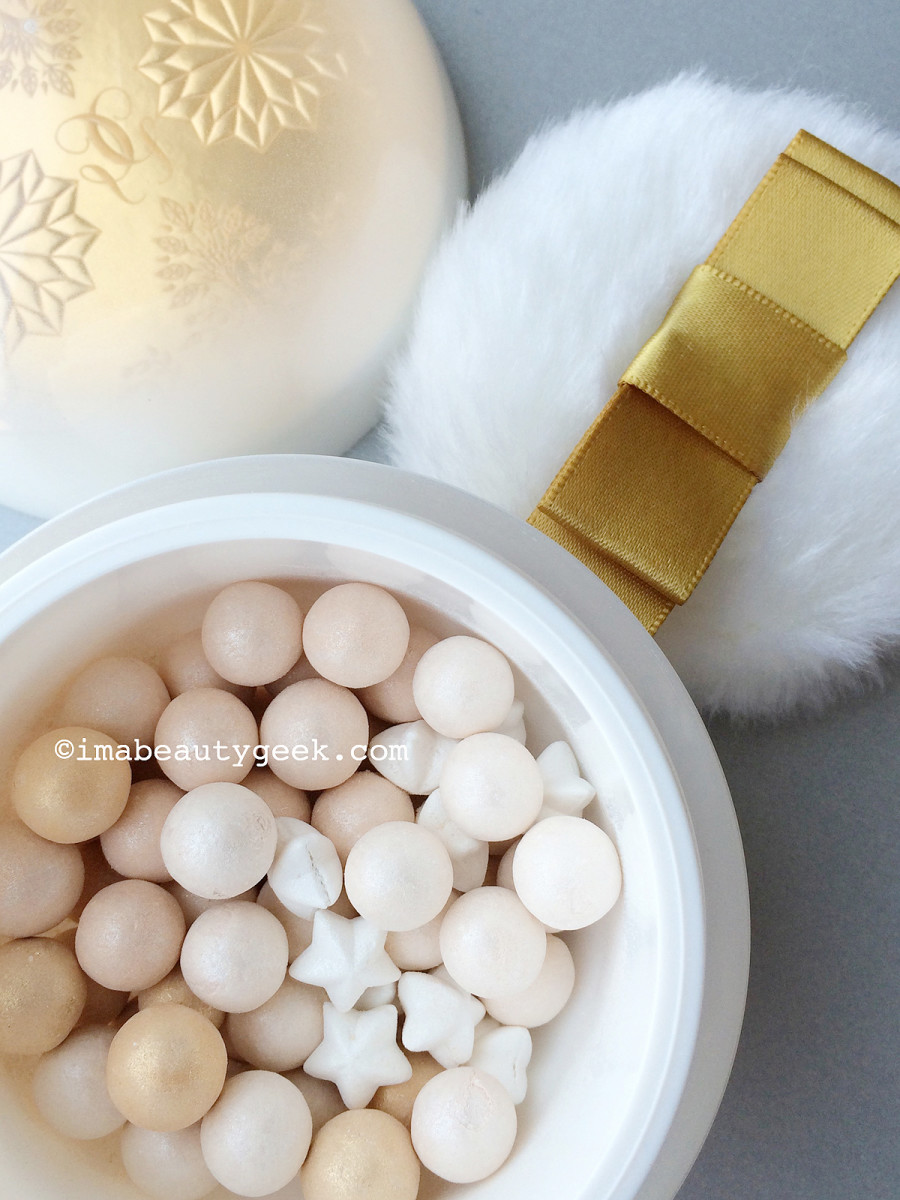 Guerlain holiday 2015 Enchanted Snowflakes Meteorites limited edition