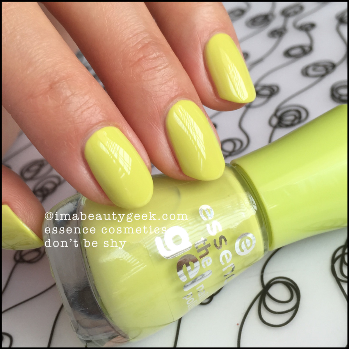 Essence Dont Be Shy _ Essence Nail Polish