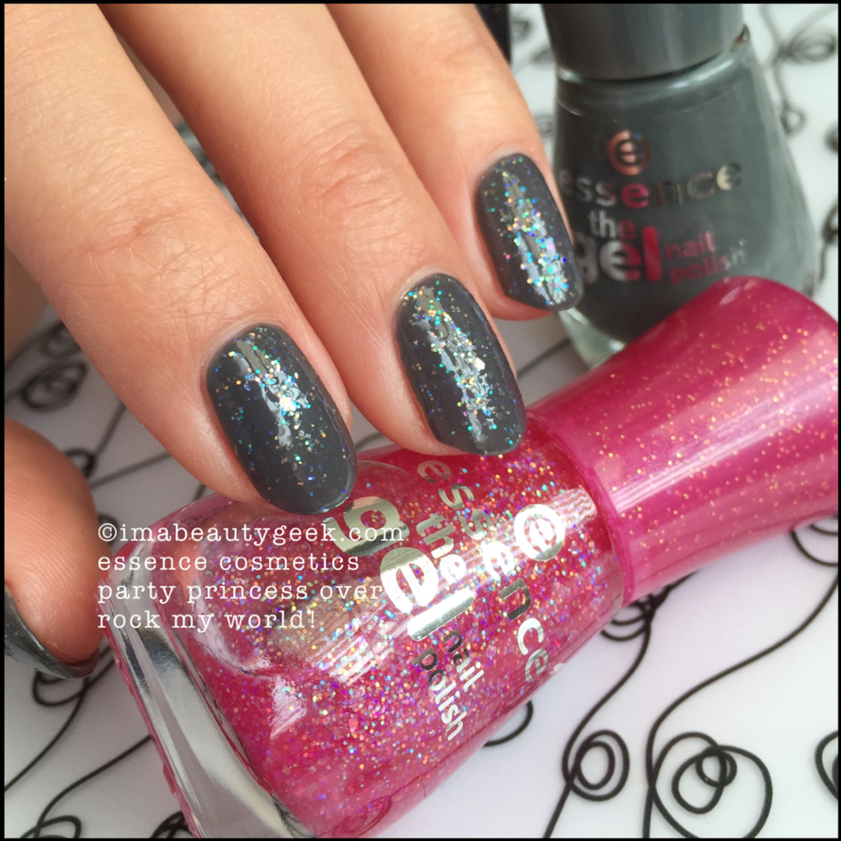 Essence Nail Polish_ Essence Party Princess over Rock My World