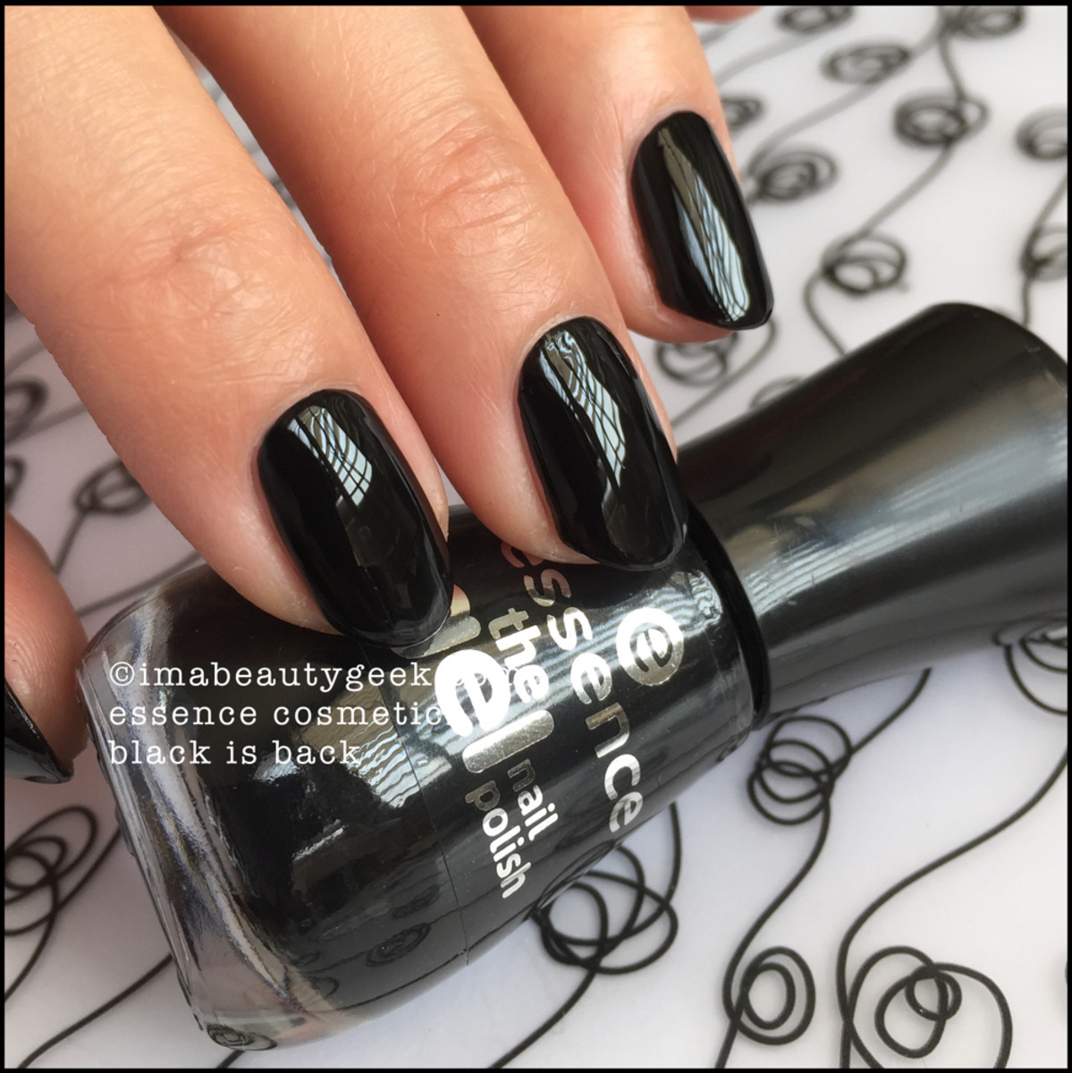 Essence Black is Back Nail Polish