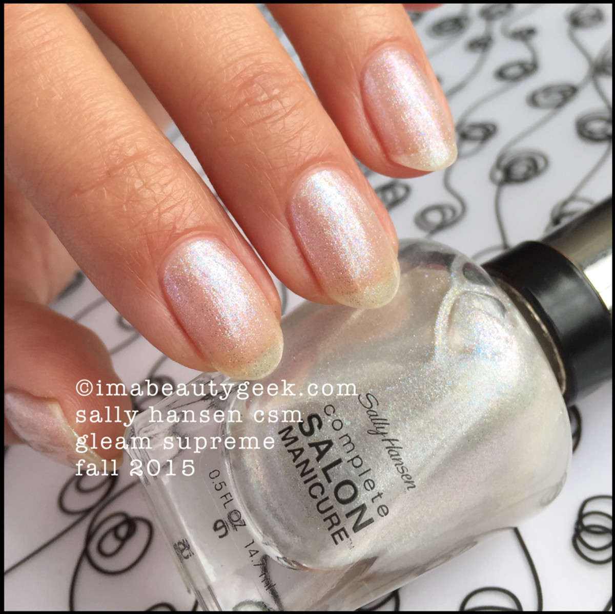 Sally Hansen Complete Salon Manicure Gleam Supreme