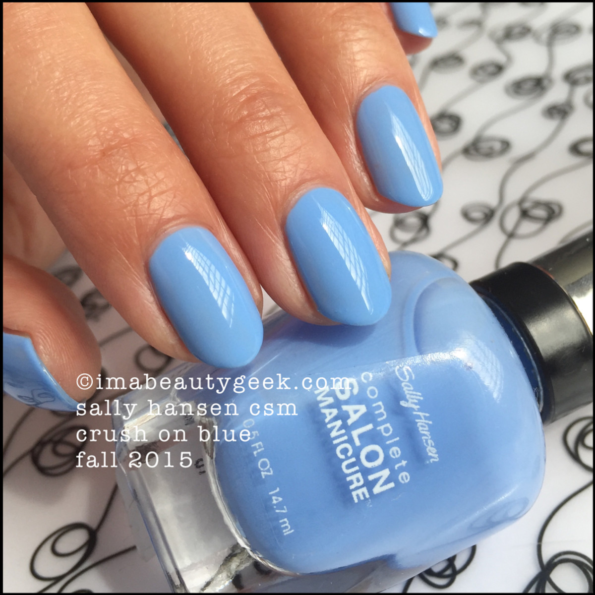 Sally Hansen Crush on Blue Fall 2015
