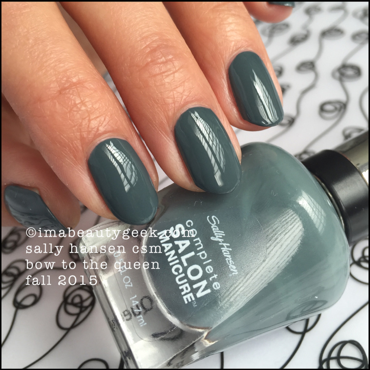 Sally Hansen Bow to the Queen CSM Fall 2015