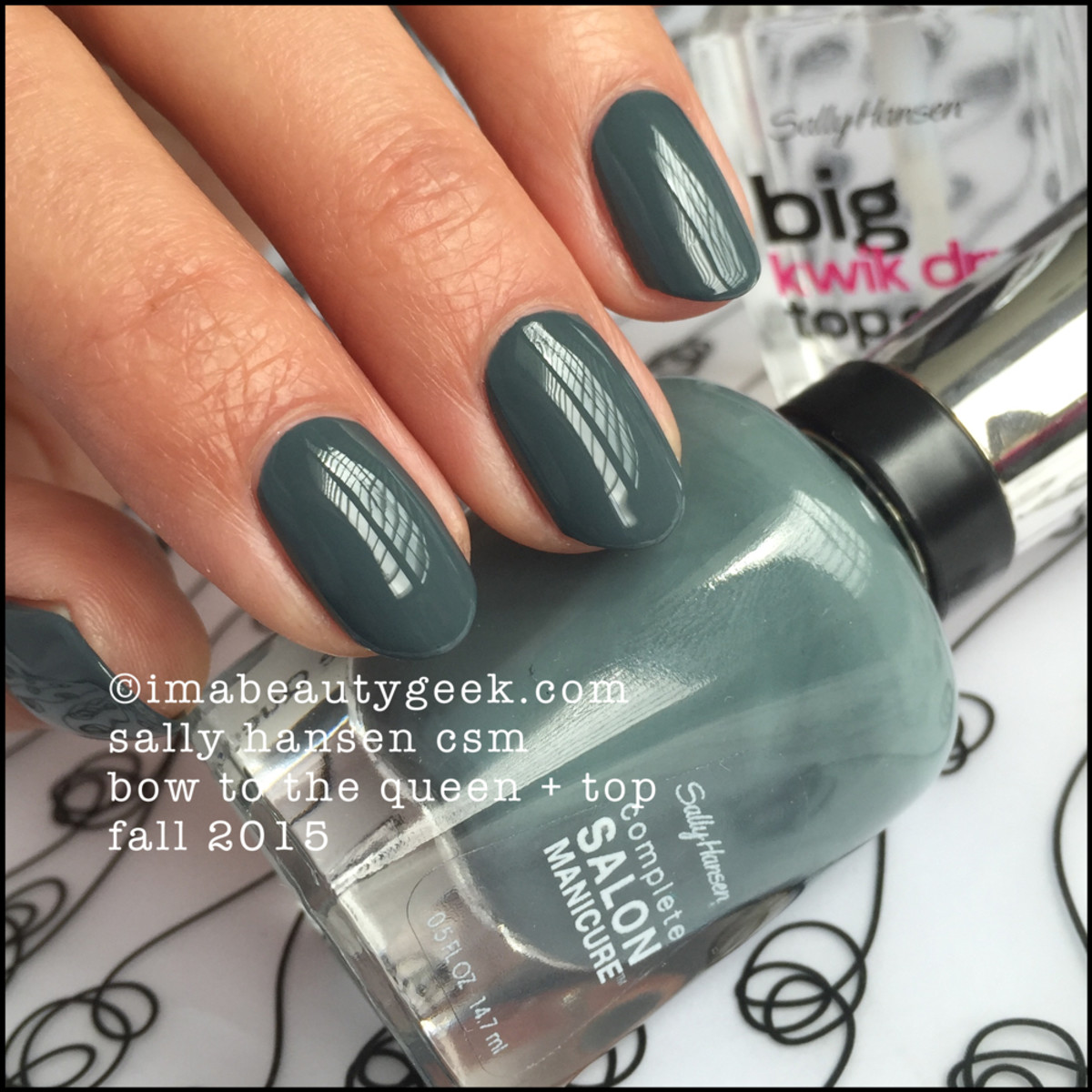 Sally Hansen Bow to the Queen Fall 2015