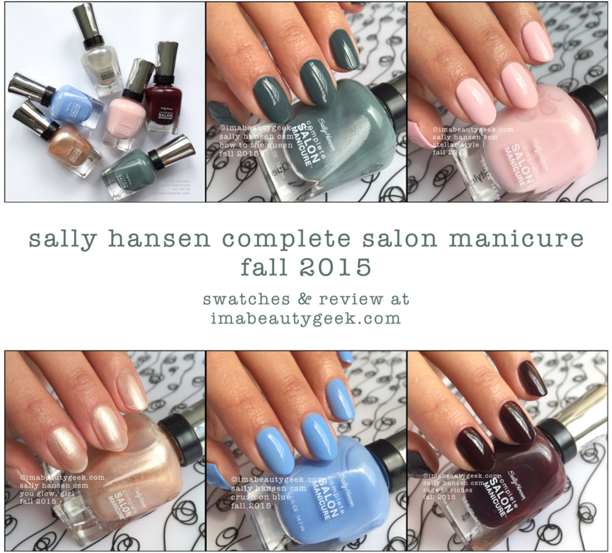 Sally Hansen Fall 2015 Complete Salon Manicure - Version 2