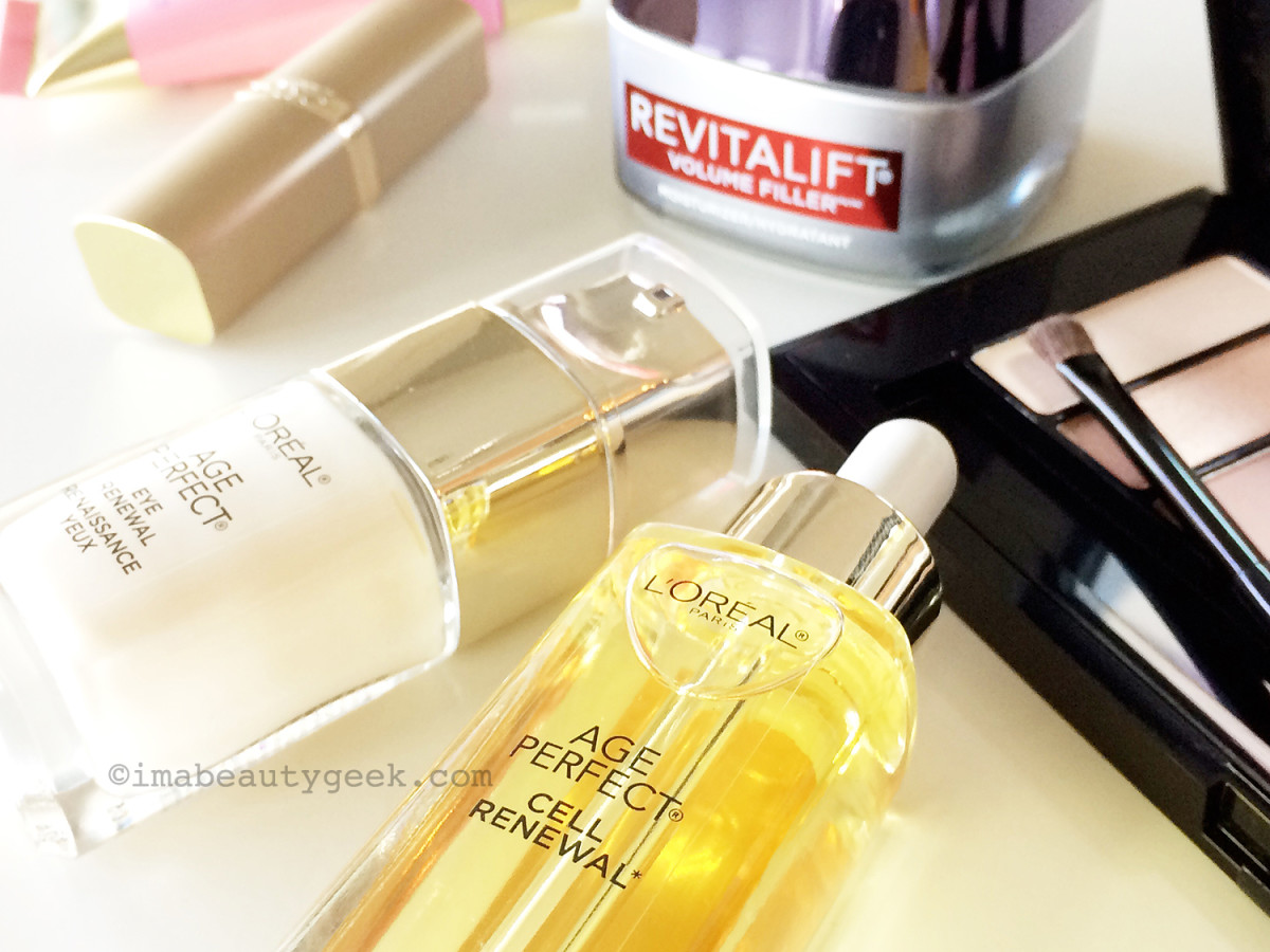 L'Oreal Paris Age Perfect Cell Renewal and Revitalift Volume Filler