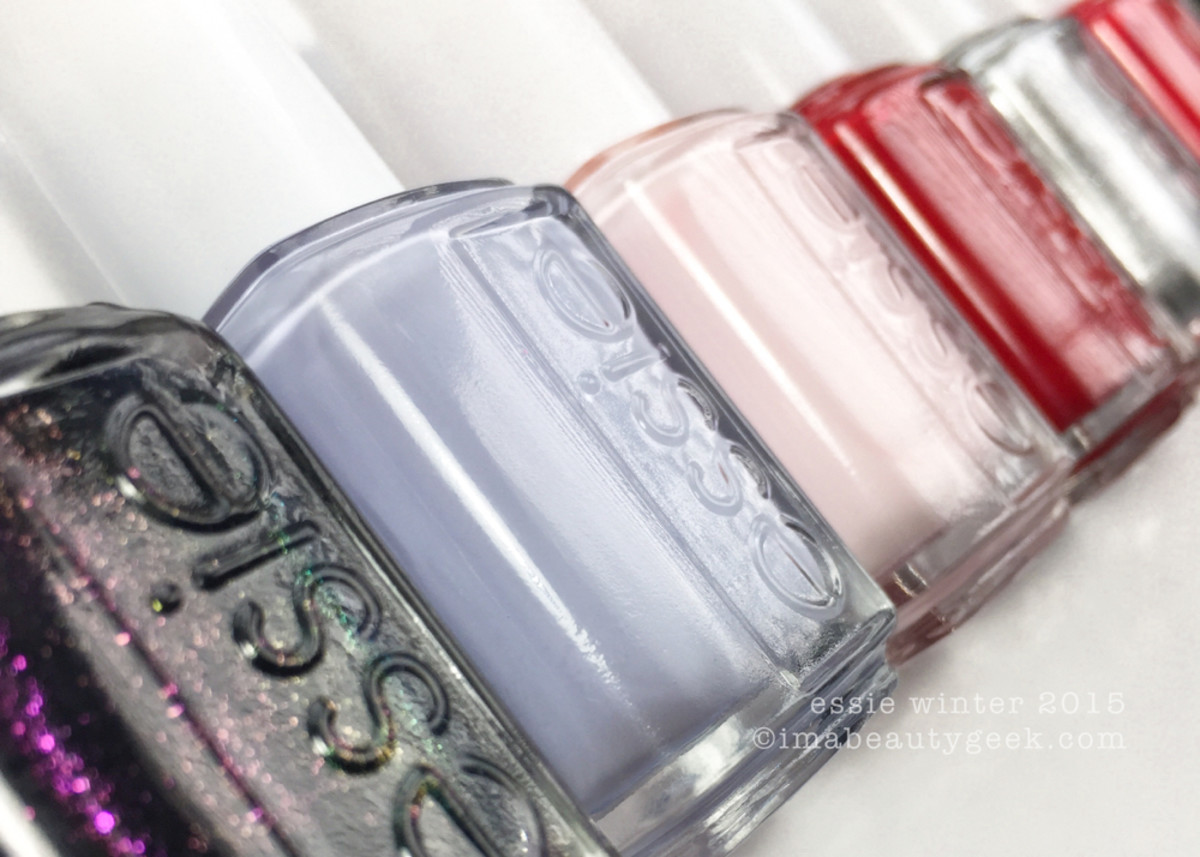 Essie Winter 2015 Swatches Beautygeeks