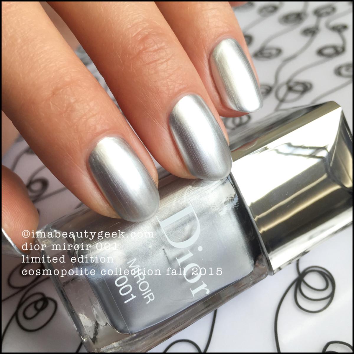 Dior Miroir Vernis Nail Polish 001 LE Fall 2015