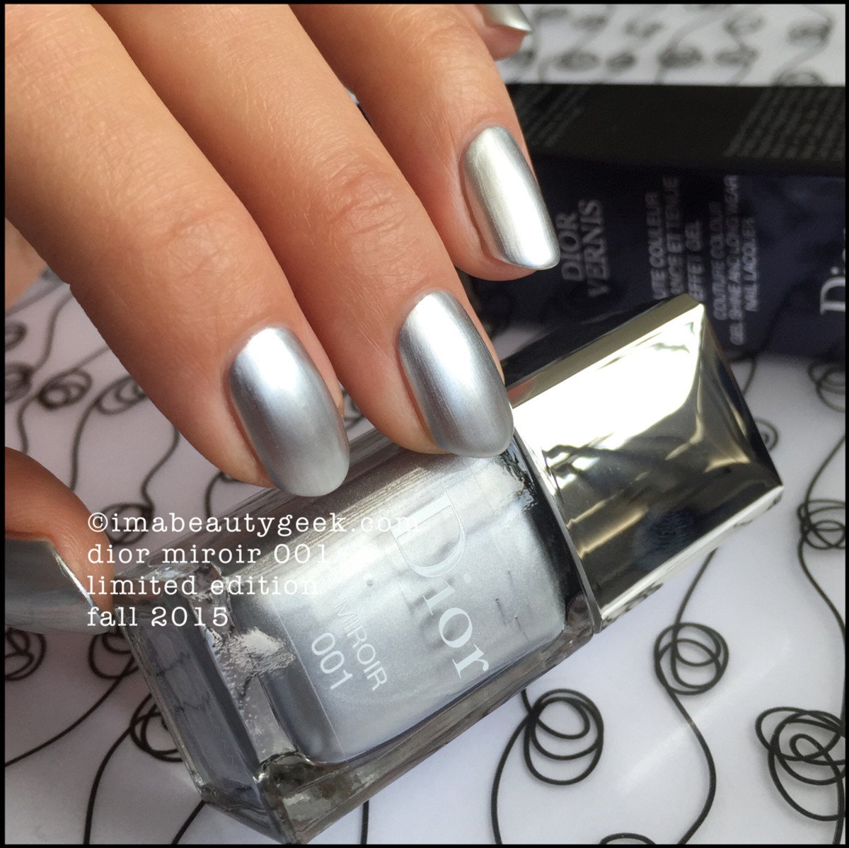 Dior Miroir 001 Nail Vernis Fall 2015 Cosmopolite Collection