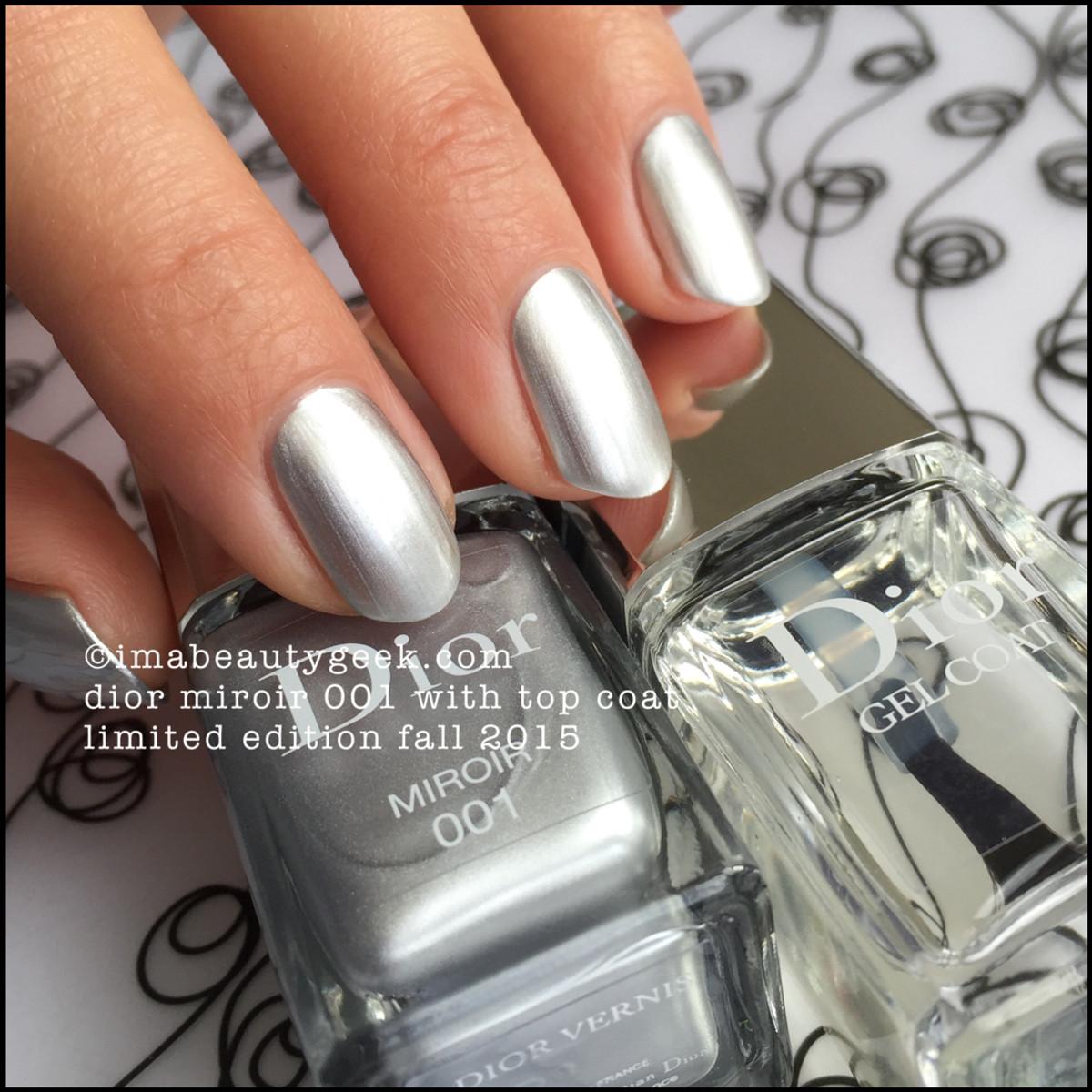 Dior Miroir 001 Vernis Nail Polish Fall 2015 Cosmopolite