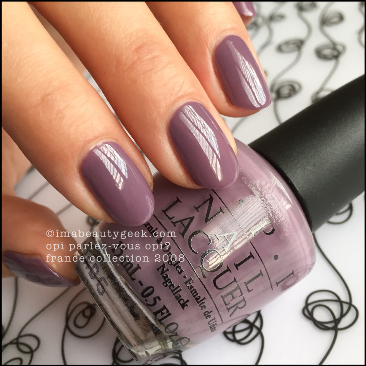 OPI Parlez Vous OPI Swatches Review France 2008 _ 3