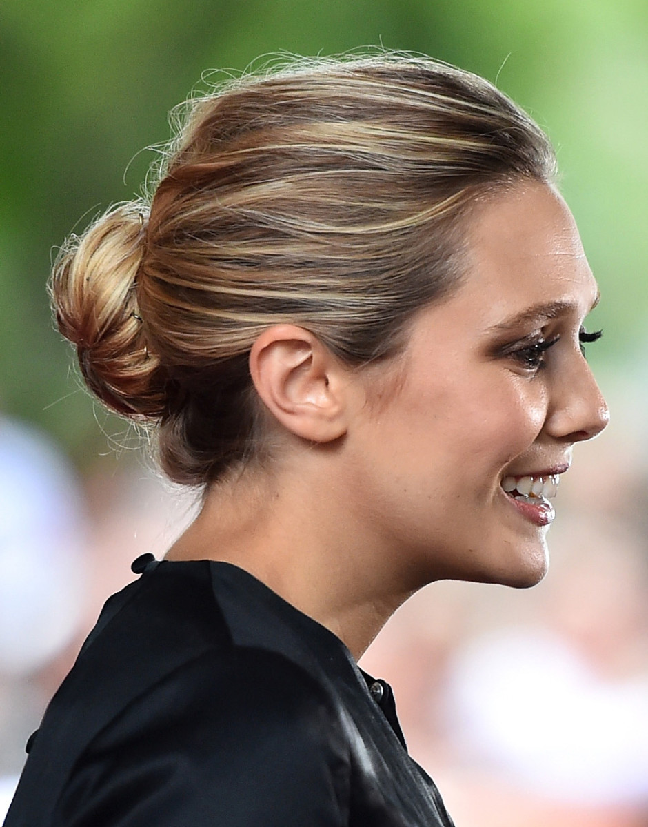 Elizabeth Olsen TIFF 2015 hair by Mark Townsend