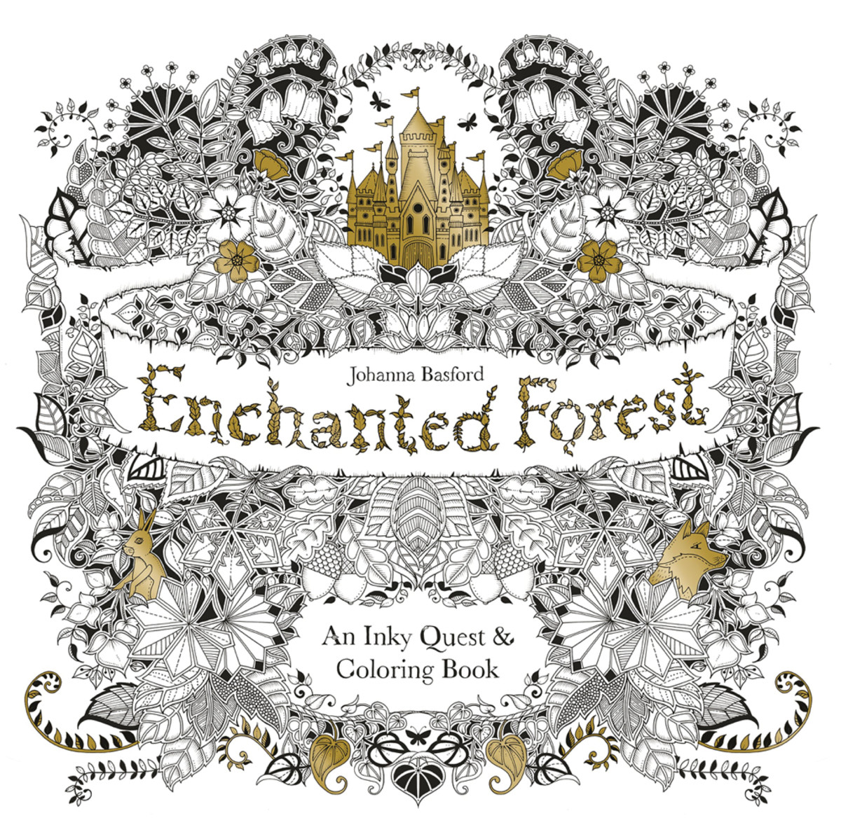 Adult Coloring Books Enchanted Forest