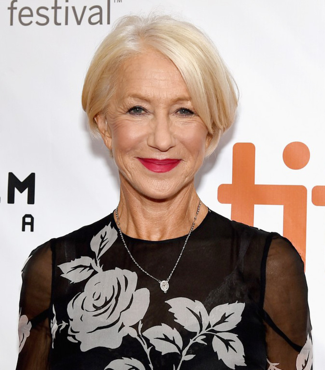 Dame Helen Mirren is radiant at the TIFF 2015 premiere of Eye in the Sky