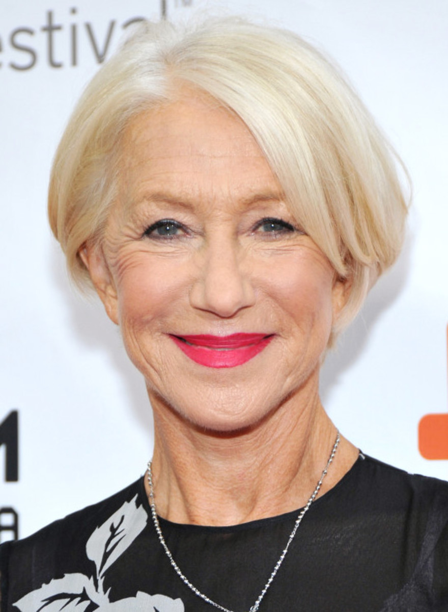 Glorious Dame Helen Mirren Tiff 2015 Makeup Beautygeeks