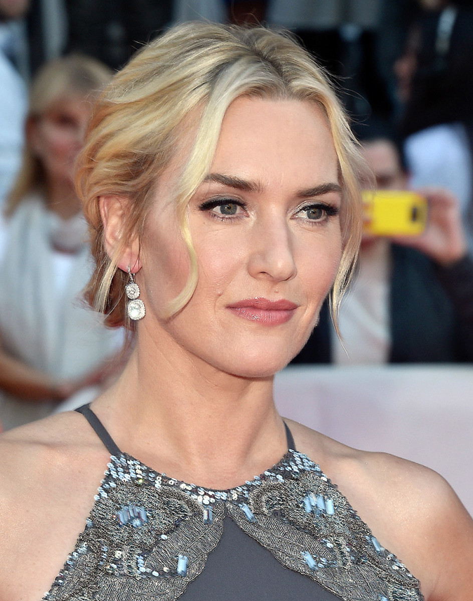 Kate Winslet red carpet makeup for The Dressmaker, TIFF 2015