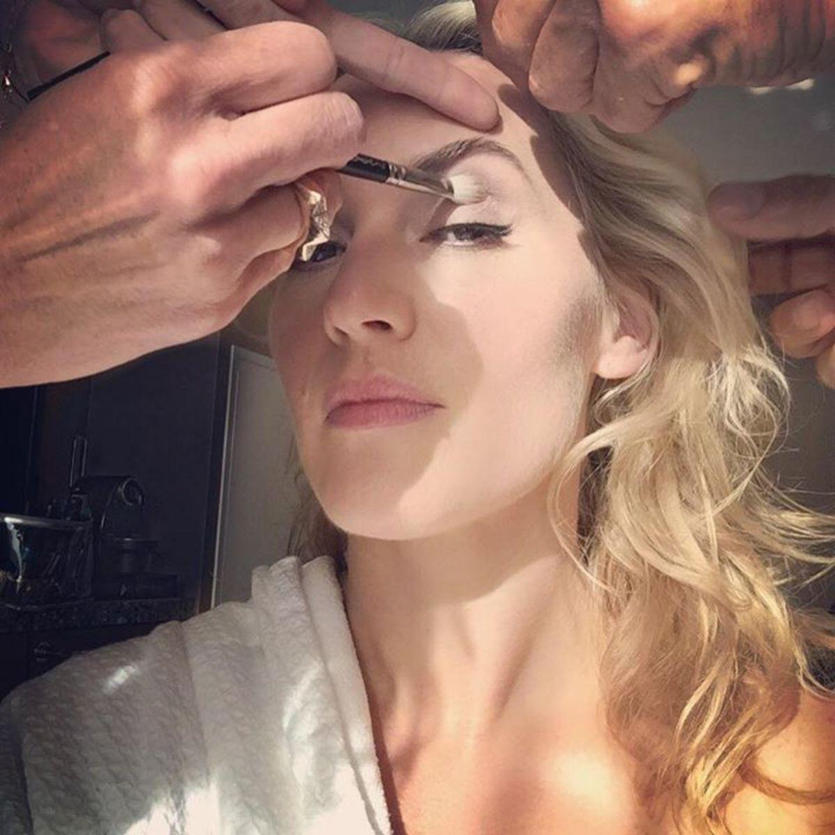 Kate Winslet TIFF 2015 makeup_selfie