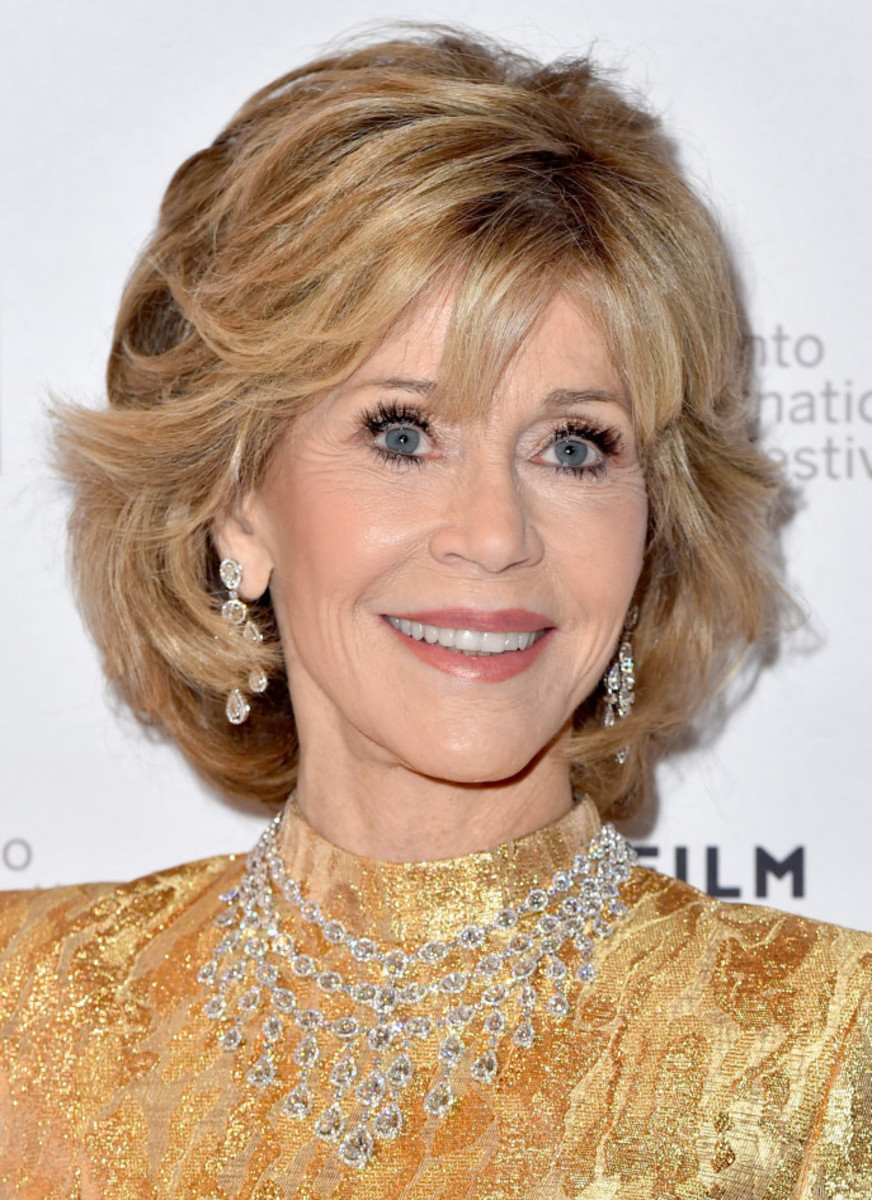 Jane Fonda at TIFF 2105 red carpet for Youth_makeup by Eddie Malter