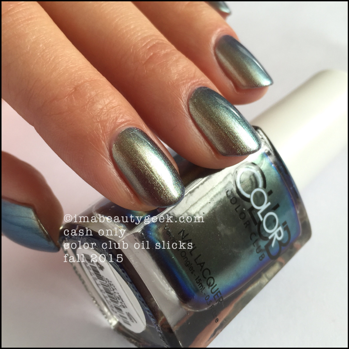 Color Club Oil Slick Collection_Color Club Cash Only_3