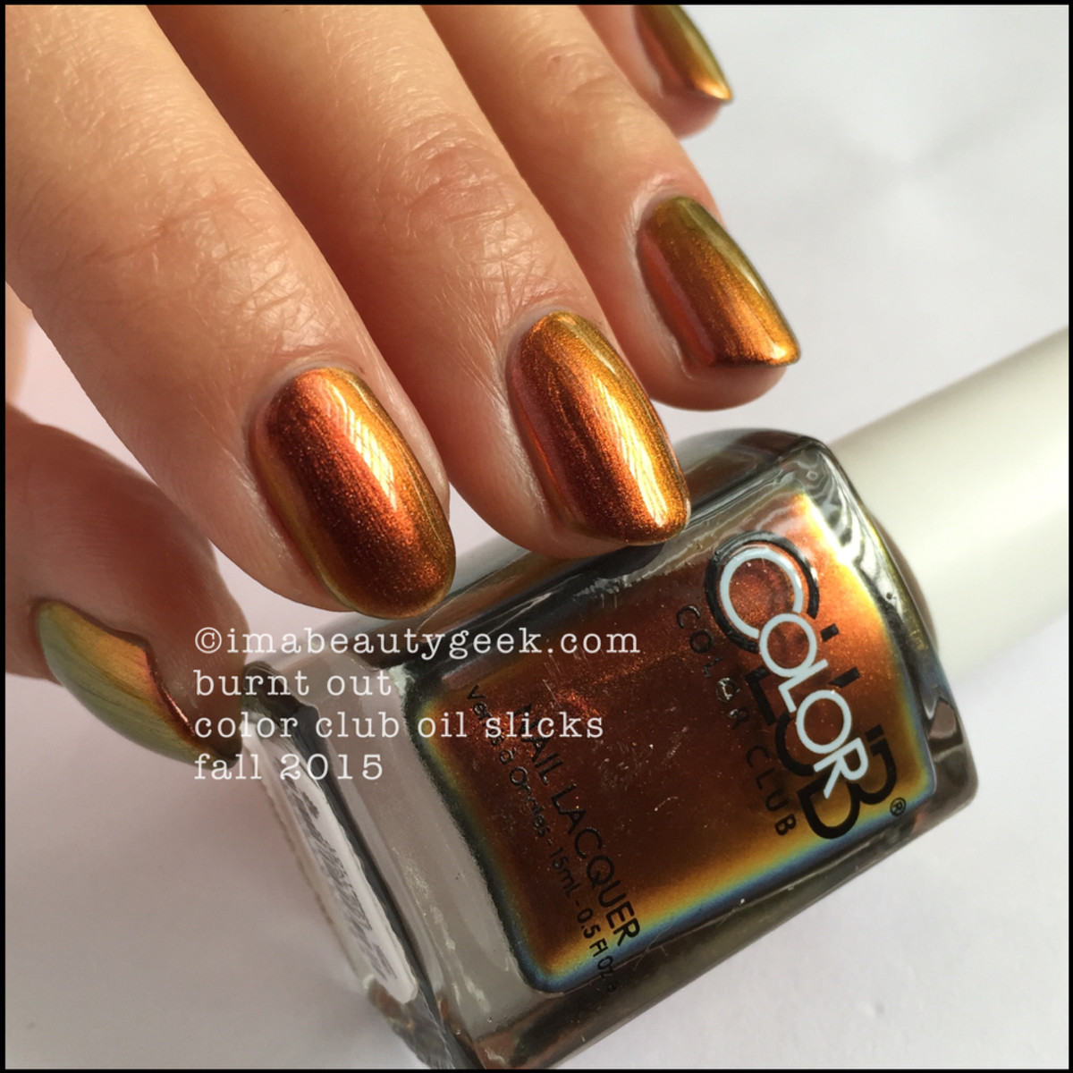 Color Club Oil Slick Collection_Color Club Burnt Out_4