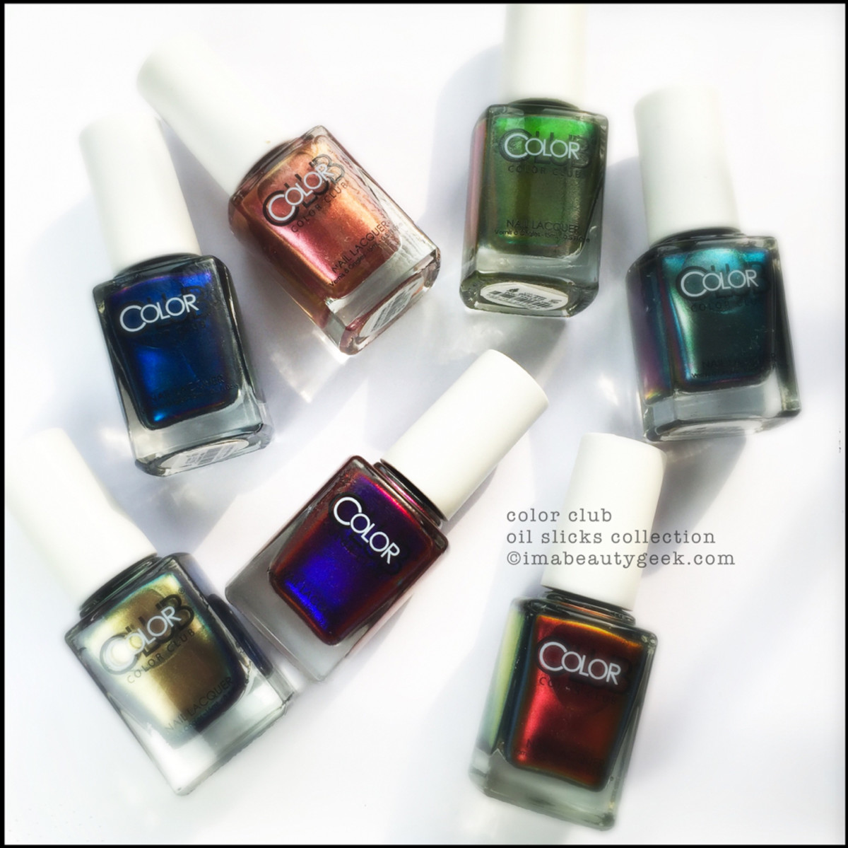 COLOR CLUB OIL SLICK COLLECTION: MEGA-SWATCHIN\' - Beautygeeks