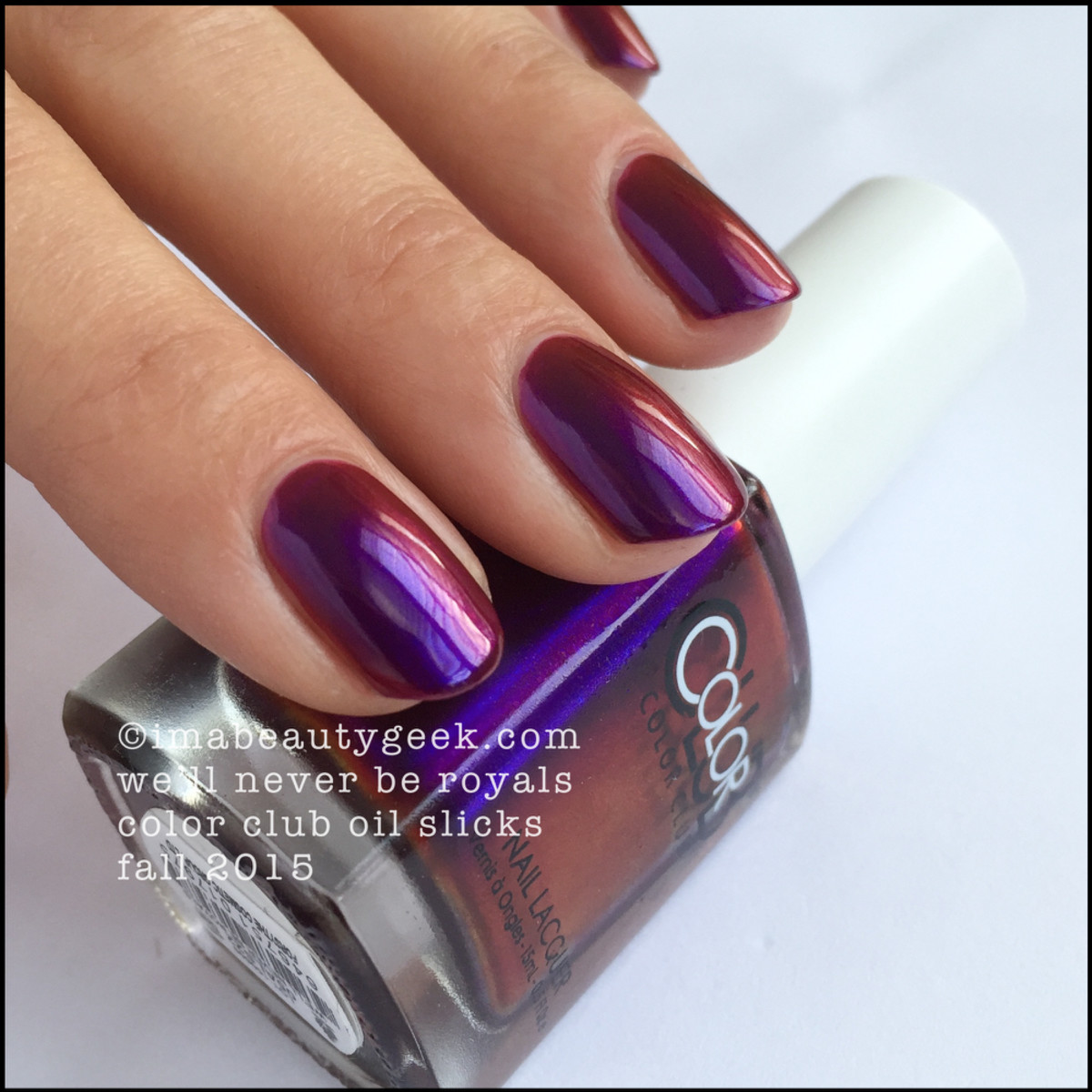Color Club Oil Slick Collection_Color Club Well Never Be Royals_3