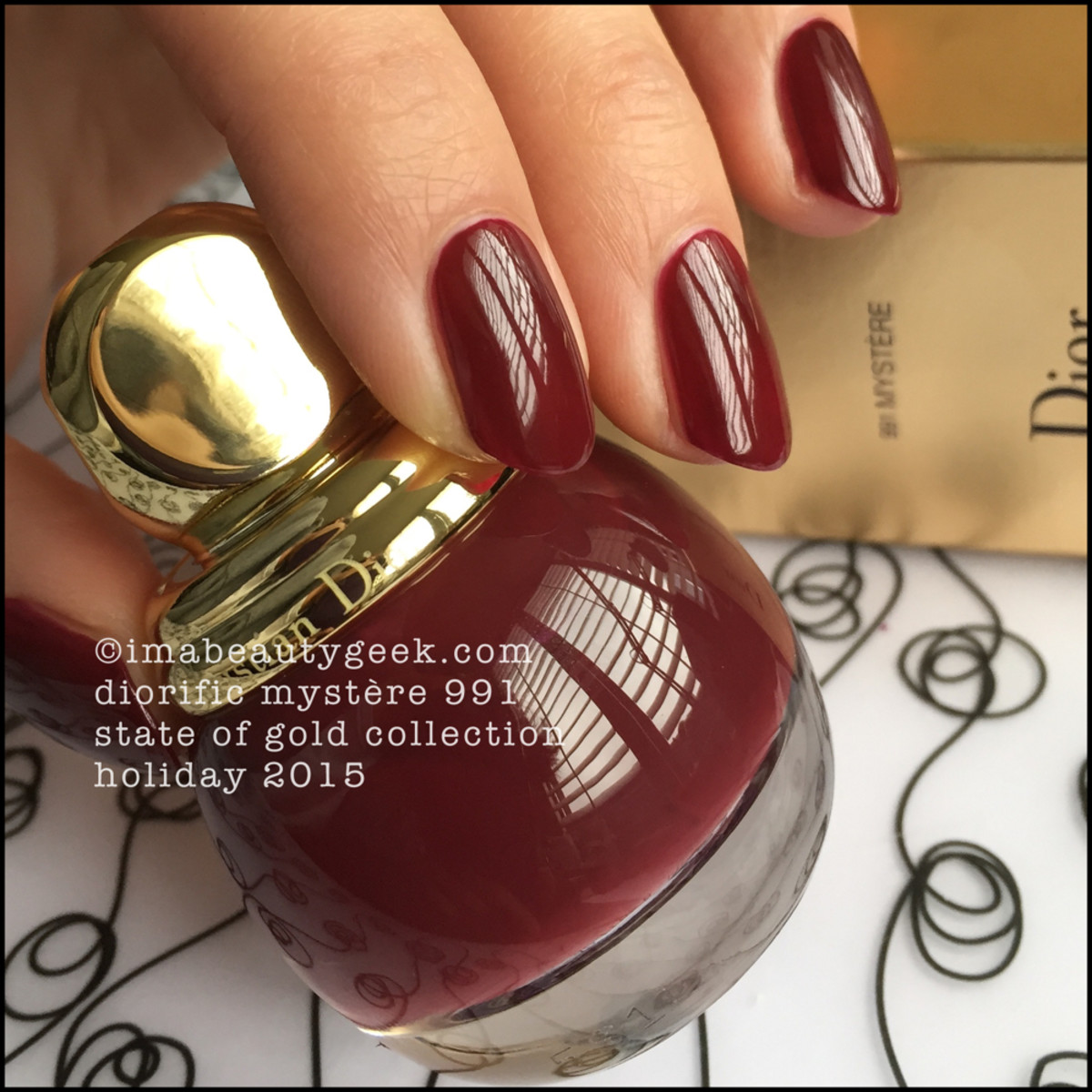 Dior State of Gold Holiday 2015_Dior Mystere 991 Vernis