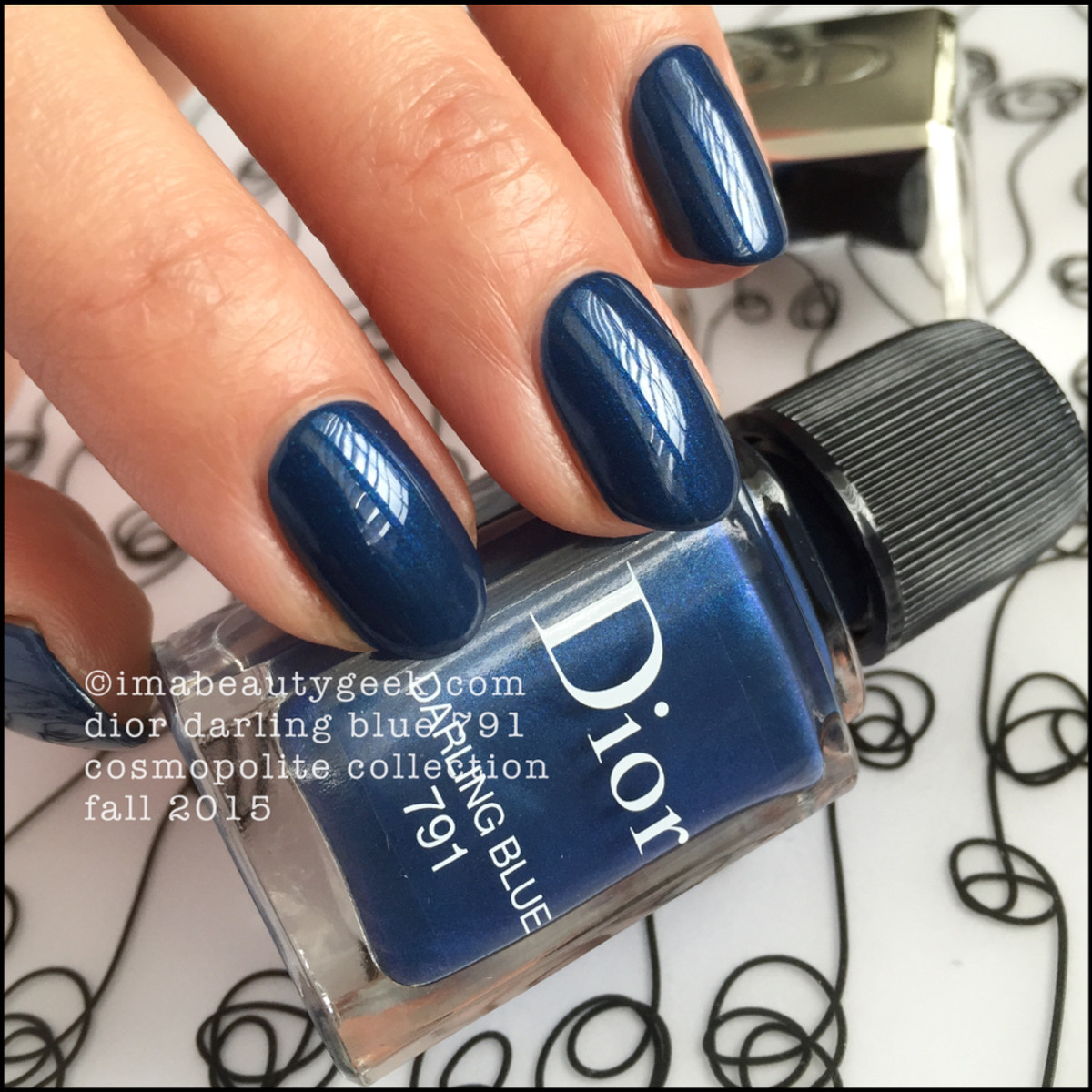 Dior Darling Blue 791 Vernis_Dior Cosmopolite Collection Fall 2015