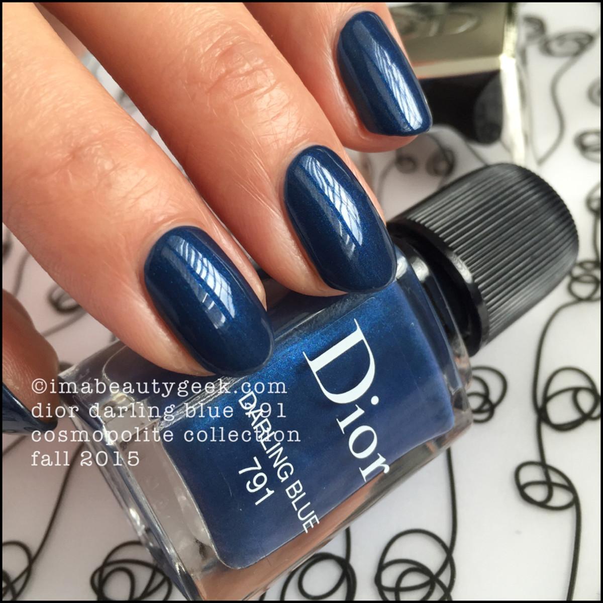 Dior Cosmopolite Fall 2015 Vernis_Dior Darling Blue Vernis Polish 791