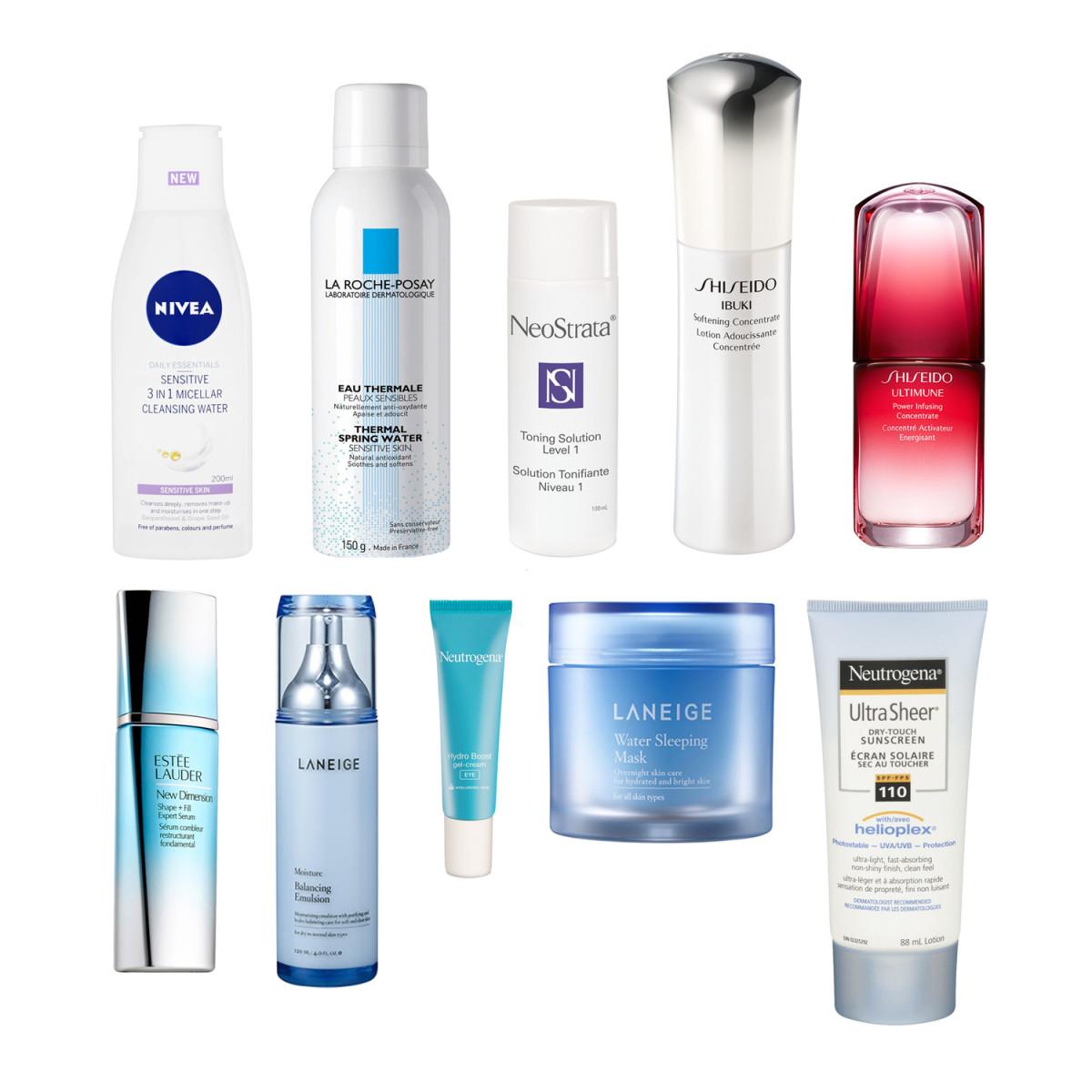 Beautygeeks daily skincare products_imabeautygeek.com
