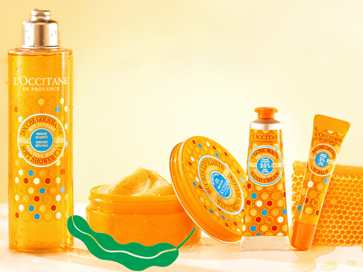 L'Occitane Melting Honey collection