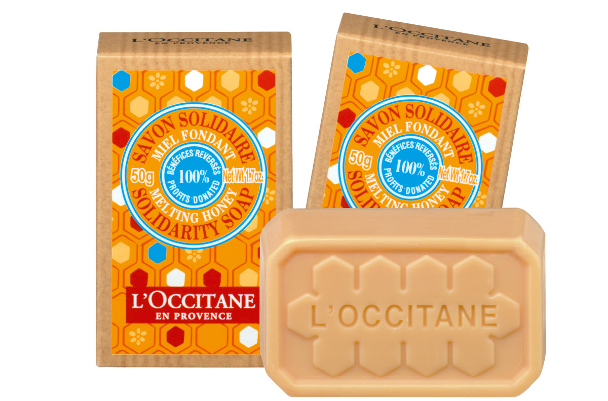 L'Occitane Melting Honey Solitary Soap_World Sight Day