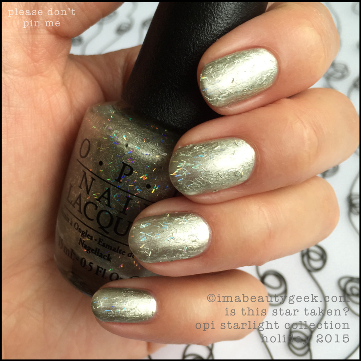 OPI Starlight Collection Holiday 2015_OPI Is This Star Taken_No Pin