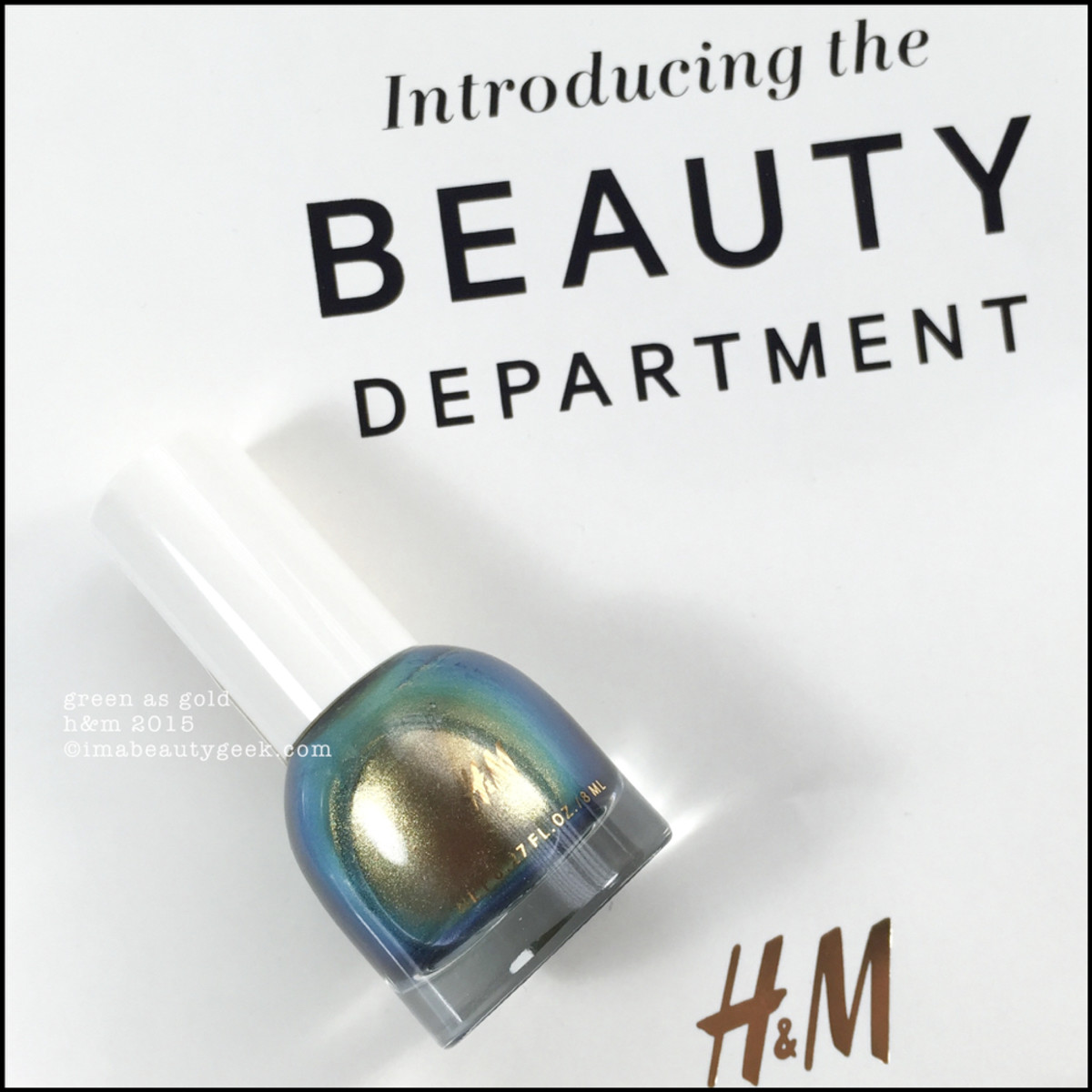 HM Beauty Department Nail Polish Swatches