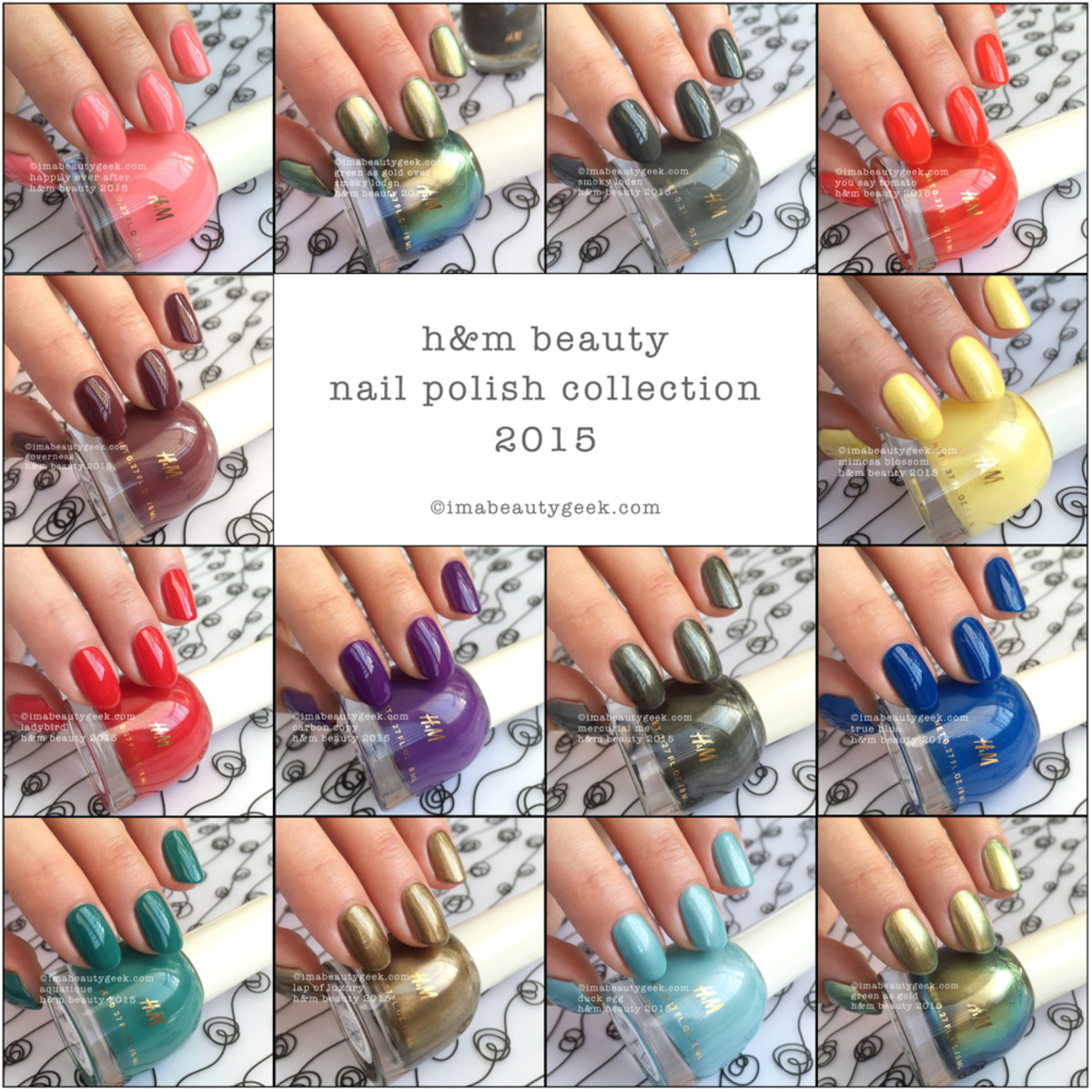 HM Nail Polish Swatches Beautygeeks Composite