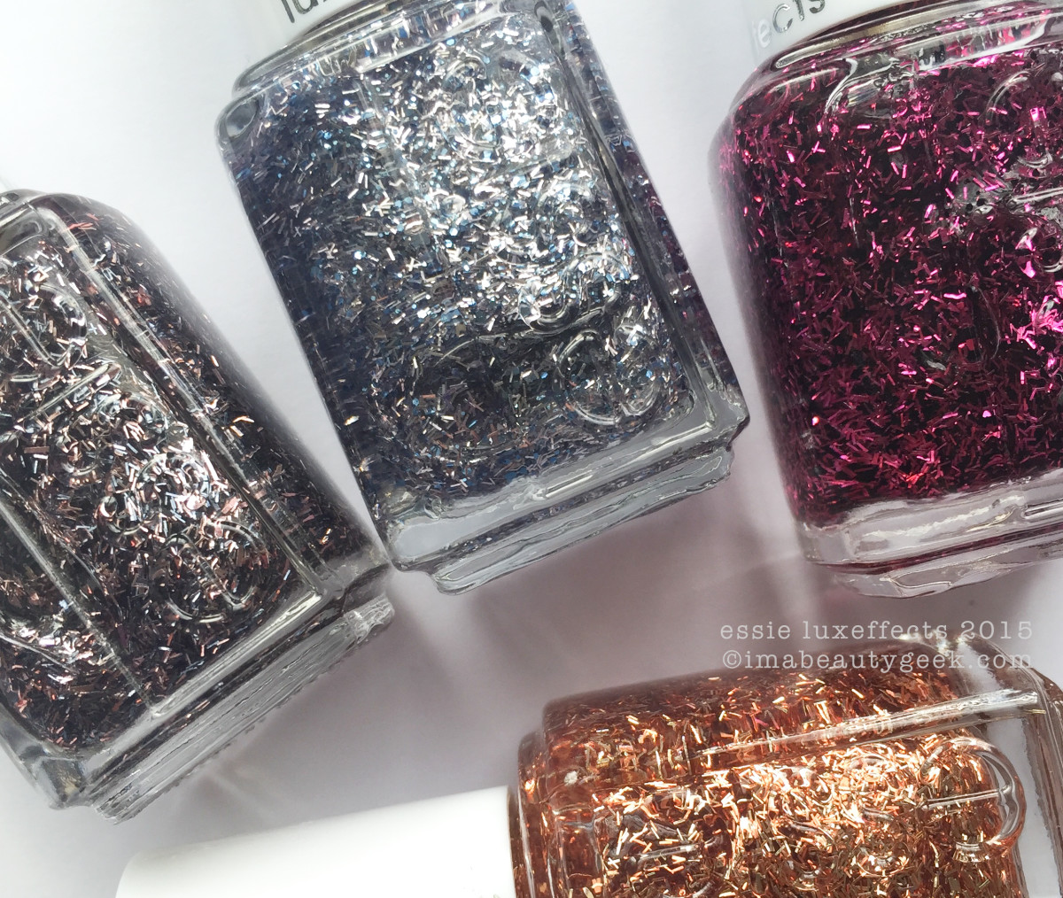 Essie LuxEffects 2015 Swatches Review Beautygeeks