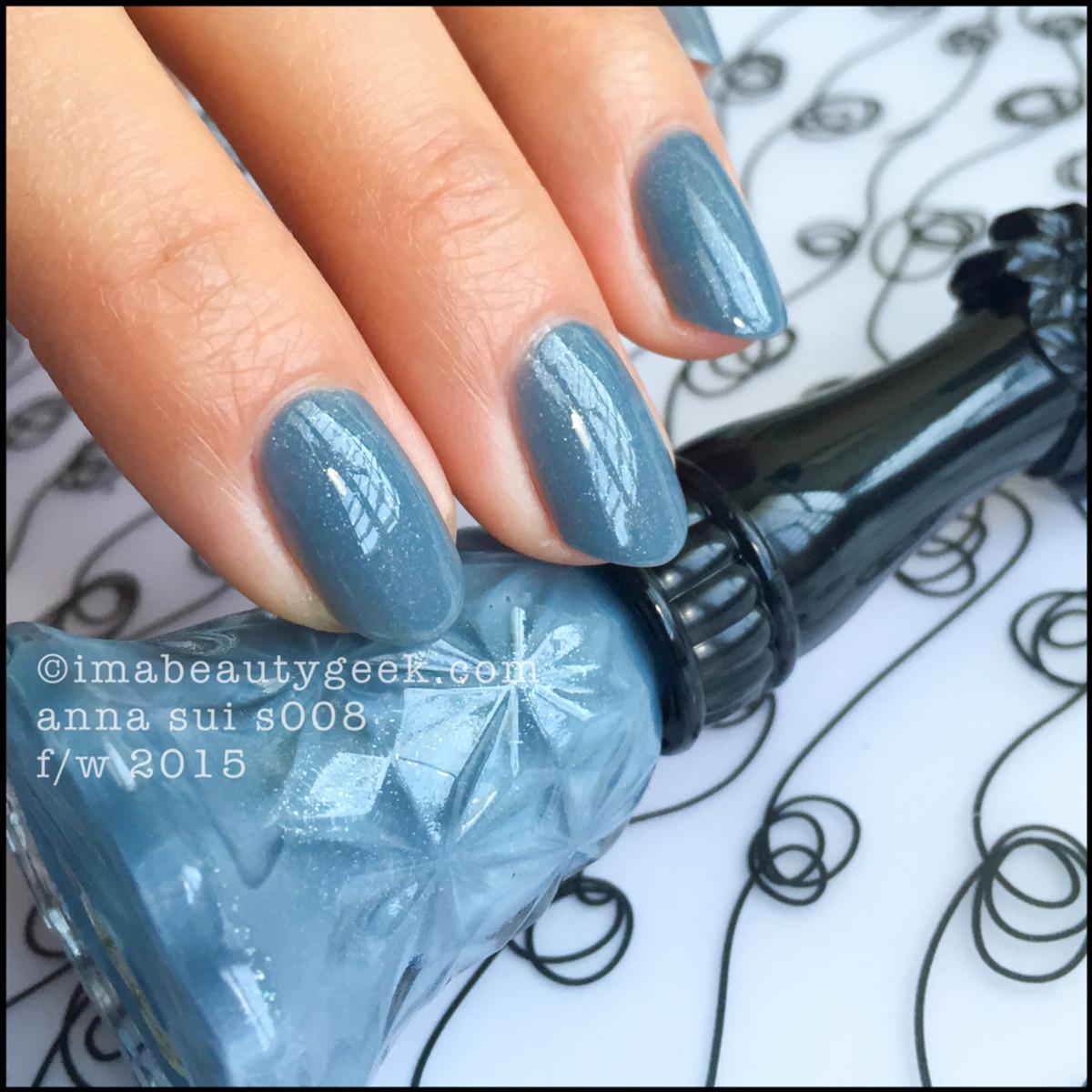 Anna Sui Nail Polish 008_Anna Sui Nail Color s008 2015